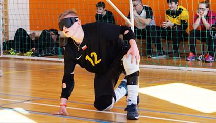 Międzynarodowy Turniej w Goalball - International Goalball Tournament
